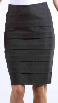 Beautiful       #Petite High Waist Shirred Stretch Pencil Skirt with Wide Belt ( Choose Black or Brown #)       http://amzn.to/H3qzNy