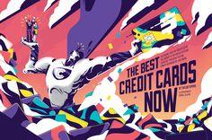 "Popatrz na ten projekt w @Behance: ""Money Magazine - The Best Credit Cards Now"" https://www.behance.net/gallery/43668559/Money-Magazine-The-Best-Credit-Cards-Now"