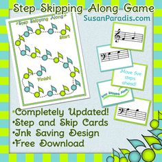 Step Skipping Along Game Revised