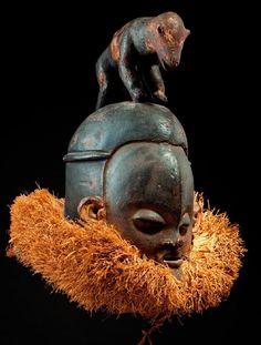 Suku Zombo mask
