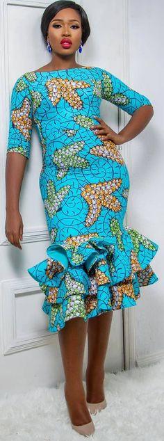 Ankara fashion style African fashion Ankara kitenge African women dresses A African Fashion Ankara, Ghanaian Fashion, African Inspired Fashion, African Print Fashion, Africa Fashion, Men's Fashion, Cheap Fashion, Fashion Styles, Fashion Boots