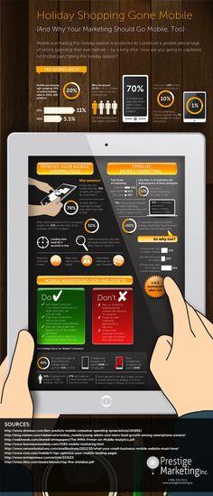 Chiffres et tendances du Marketing Mobile : L'agence Prestige Marketing a publié une infographie reprenant les principaux chiffres du marketing mobile ainsi que les tendances fortes du secteur pour les marketeurs.