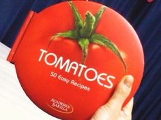 Tomatoes cooking book cover