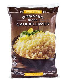 Trader Joe's Organic Cauliflower Rice Couscous