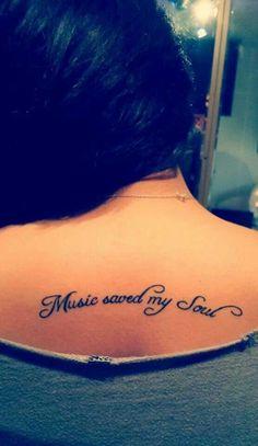 ¡Que el ritmo no pare! Tatuajes para amantes de la música
