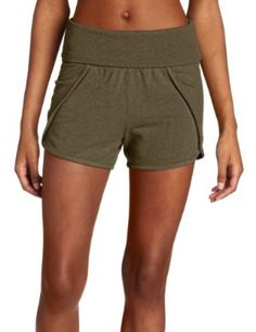 Beyond Yoga Women's Foldover Petal Short by Beyond Yoga. $16.80. Pre-laundered for minimal shrinkage. Heathered light weight french terry. Easy fitting for workout or go out. Short and sweet, perfect for relaxing