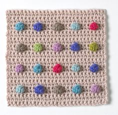 Cómo # crochet un bobble por Jan Eaton