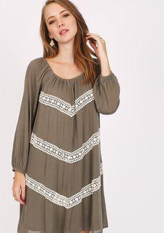 Providence Crochet Detail Dress