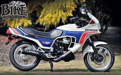 Old Bike Australasia: Honda's Blowhard - Honda CX650 Turbo - Shannons Club