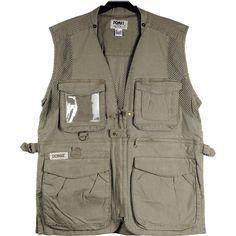 Domke PhoTOGS Vest (Large, Khaki) 734-003 B&H Photo Video