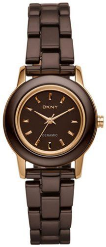 DKNY Ceramic Rose Brown Dial Women's Watch NY8428 DKNY. $165.00. DKNY Ceramic Rose Brown Dial Women's Watch NY8428. Water resdistant 50 meters/165 feet. Quartz movement