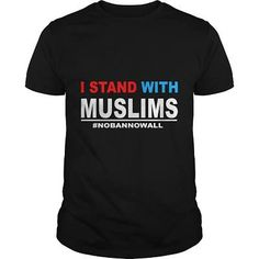 I Stand with Muslims T Shirt ...