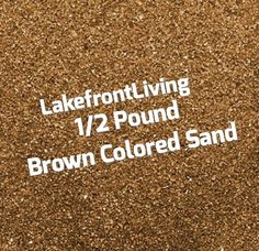 Items similar to Brown Sand for Wedding Unity Sand - Colored Sand for Craft Projects, Kids Play or Fairy Garden - Pound on Etsy Unity Sand, Think Small, Colored Sand, Kids Playing, Craft Projects, Brown, Crafts, Wedding, Diy Colored Sand