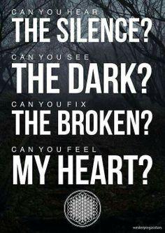 BMTH has such great lyrics!