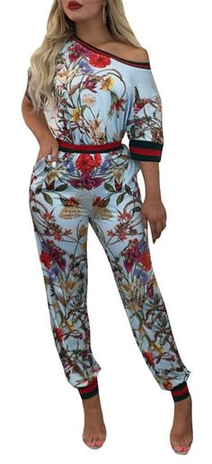 Mintsnow Women's 2 Piece Outfits Floral Bodycon Sweatsuits Set Tracksuits: Amazon.ca: Clothing & Accessories