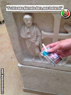 La sigaretta tentatrice (www.VignetteItaliane.it)