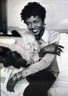 Lauryn Hill - such a beautiful smile. My girl L boogie!