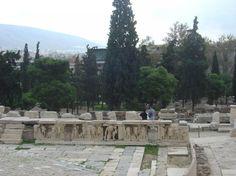 Athens, Theatre of Dionysos, Acropolis