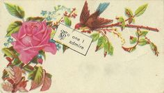 Gilded Days: DIY: Make Your Own Victorian Calling Card