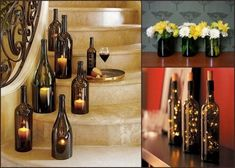 How to cut wine bottles for crafts