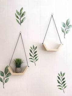 hanging plants indoor diy hanging plants indoor diy Click The Link For See House Plants Decor, Plant Decor, Plant Wall, Diy Home Crafts, Craft Stick Crafts, Diy Wall Decor, Bedroom Decor, Diy Para A Casa, Plant Shelves