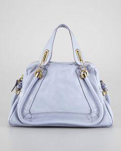 Chloe Elsie Medium Shoulder Bag Capri Night 80
