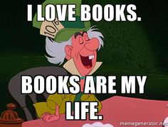 Disney book jokes and quotes that are true for every bookworm.