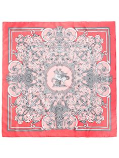 """Les Tuileries"" Silk Twill Scarf 90cm by Hermès on Gilt.com"