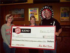 James P. won $2,377 playing Big Red Keno in Norfolk. Congrats James!