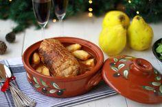 ΡΟΛΟ ΚΟΤΟΠΟΥΛΟ ΜΕ ΚΥΔΩΝΙΑ ΚΑΙ ΠΑΤΑΤΕΣ ΣΤΗ ΓΑΣΤΡΑ | Cool Artisan Turkey, Meat, Chicken, Cooking, Recipes, Food, Greek, Kitchen, Turkey Country