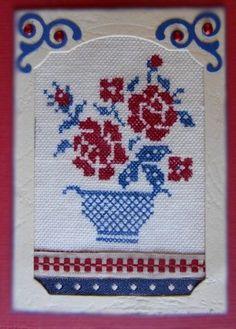 """ATC """"Fleur de Digouin"""" pour Scrapabrigitte"""