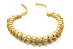 Beaded Pearl Bracelet with Ribbon  |   Bowdabra Blog