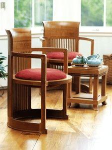 Barrel Chair  1937- Designed for the Herbert Johnson's home Wisconsin-1939