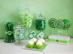 St. Patricks Day desserts #stpatricksday #irish #desserts