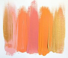 color palette i love! bedroom? family room? front room? these were my wedding colors and theses sunset hues make me happy!