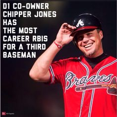#ChipperJones #D1Sports #strong #healthy #lean #fit  #fit #nutrition #gym #running #fitfood #workout #fitfam #fitmom #goals #accomplish #strongisthenewskinny #healthychoices #motivation #weightloss #abs #training #womenlift #fitwomen