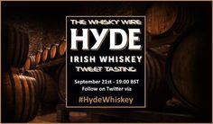 Less than 2 weeks to go til we kick off an evening of HYDE WHISKEY TASTING @HydeWhiskey Sept 21st - 19:00 BST via www.thewhiskywire.com @thewhiskywire