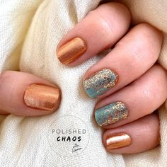 oslo and steady color street combo / oslo and steady color street . oslo and steady color street combo . oslo and steady color street nails Get Nails, Fancy Nails, How To Do Nails, Pretty Nails, Hair And Nails, Gold Acrylic Nails, Rose Gold Nails, Nail Color Combos, Nail Colors