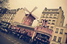 moulin rouge paris vintage images   Image of Moulin Rouge - Vintage