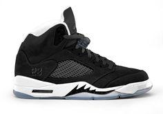 136027-035 Air Jordan 5 Oreo Black.   $129.99 http://www.alljordanshoes2013.com/136027-035-air-jordan-5-oreo-black-white-680.html