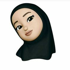 Emoji Pictures, Cartoon Profile Pictures, Emoji Wallpaper Iphone, Cartoon Wallpaper, Muslim Pictures, Hijab Drawing, Islamic Cartoon, Girl Emoji, Anime Muslim