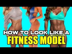 Fitness Model Fat Loss & Muscle Definition - YouTube