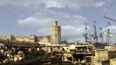 La torre del oro (Sevilla, siglo XVI)