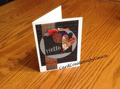 Stacked Paper and Die - CardCreationsbyLaura