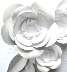 paperflowers, papercraft,  DIY