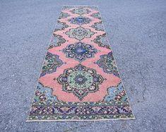 Turkish rug Oushak rug Vintage rug Turkey rug by turkishrugstar Pink Rug, Rug Runner, Vintage Rugs, Bohemian Rug, Etsy Seller, Turkey, Creative, Unique, Home Decor