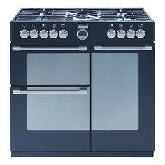 Buy Stoves Sterling 900DFT Dual Fuel Range GBP 949 (Cooker, Black Online at johnlewis.com