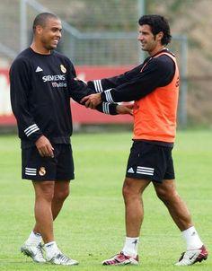 Ronaldo x Figo