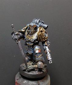 40k - Pre-Heresy Dark Angels Legion Praetor by Henry South