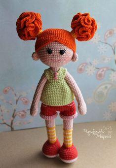 Good girls PDF crochet doll pa